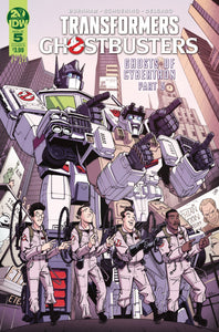 TRANSFORMERS GHOSTBUSTERS #5 (OF 5) CVR B ROCHE - IDW PUBLISHING - Black Cape Comics