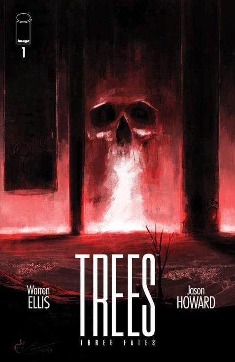 TREES THREE FATES #1 Black Cape Comics Exclusive - IMAGE COMICS - Black Cape Comics