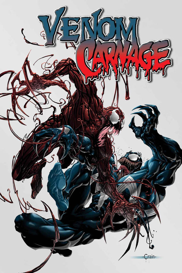 TRUE BELIEVERS ABSOLUTE CARNAGE VENOM VS CARNAGE #1 - MARVEL COMICS - Black Cape Comics