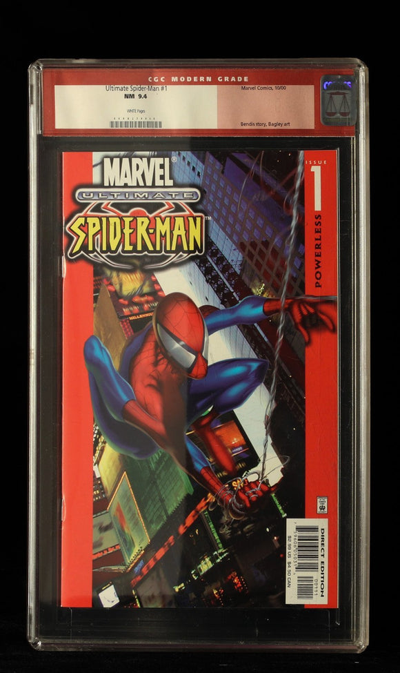 Ultimate Spiderman #1 CGC 9.4 - MARVEL COMICS - Black Cape Comics