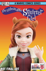UNBEATABLE SQUIRREL GIRL #39 MARVEL RISING ACTION DOLL HOMAG - MARVEL COMICS - Black Cape Comics