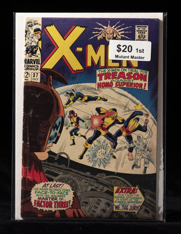 Uncanny X-Men (1963) #37 - MARVEL COMICS - Black Cape Comics