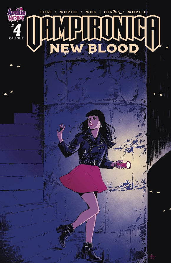 VAMPIRONICA NEW BLOOD #4 (OF 4) CVR A MOK - ARCHIE COMIC PUBLICATIONS - Black Cape Comics