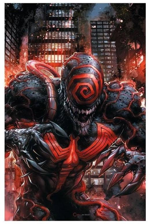 Venom Annual Crain Variant Signed Cates and Crain - MARVEL COMICS - Black Cape Comics