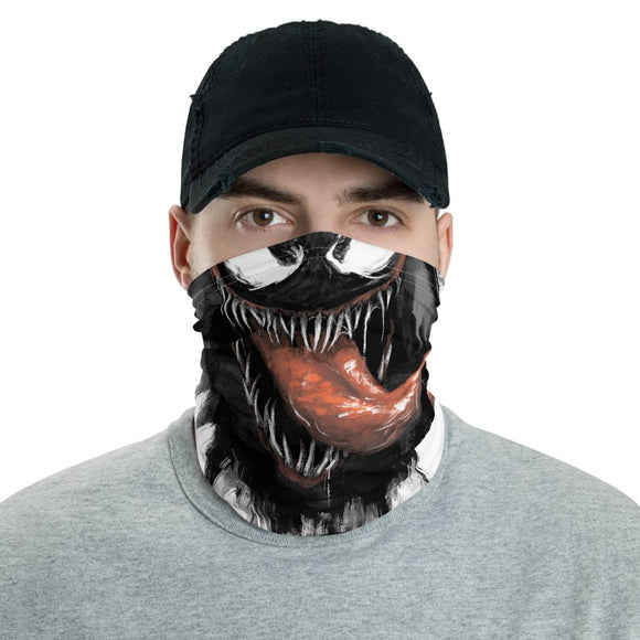 Venom Face Mask - Black Cape Comics - Black Cape Comics