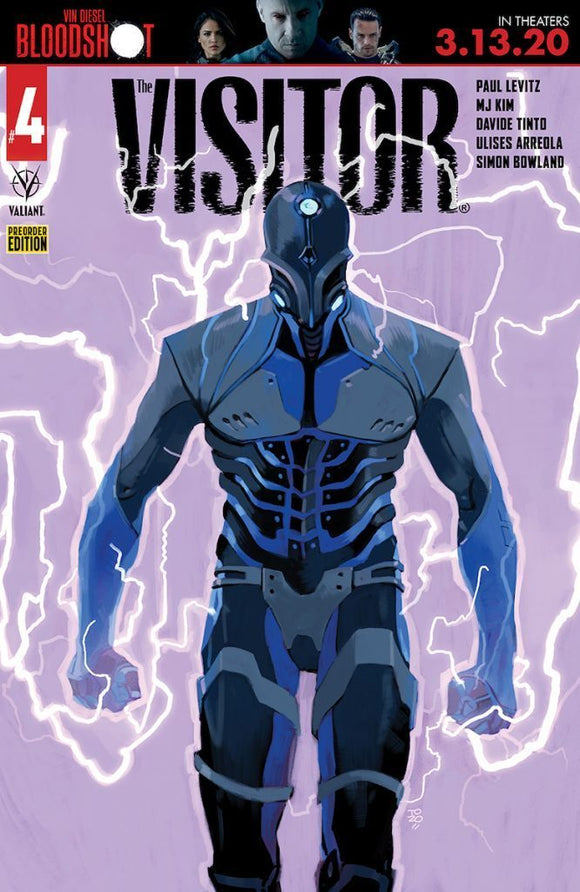 VISITOR #4 (OF 6) CVR D PRE-ORDER BUNDLE ED - VALIANT ENTERTAINMENT LLC - Black Cape Comics