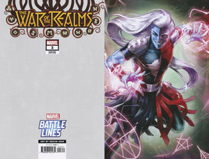 WAR OF REALMS #3 (OF 6) HEEJIN JEON MARVEL BATTLE LINES VAR - MARVEL COMICS - Black Cape Comics