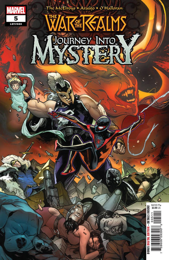 WAR OF REALMS JOURNEY INTO MYSTERY #5 (OF 5) - MARVEL COMICS - Black Cape Comics