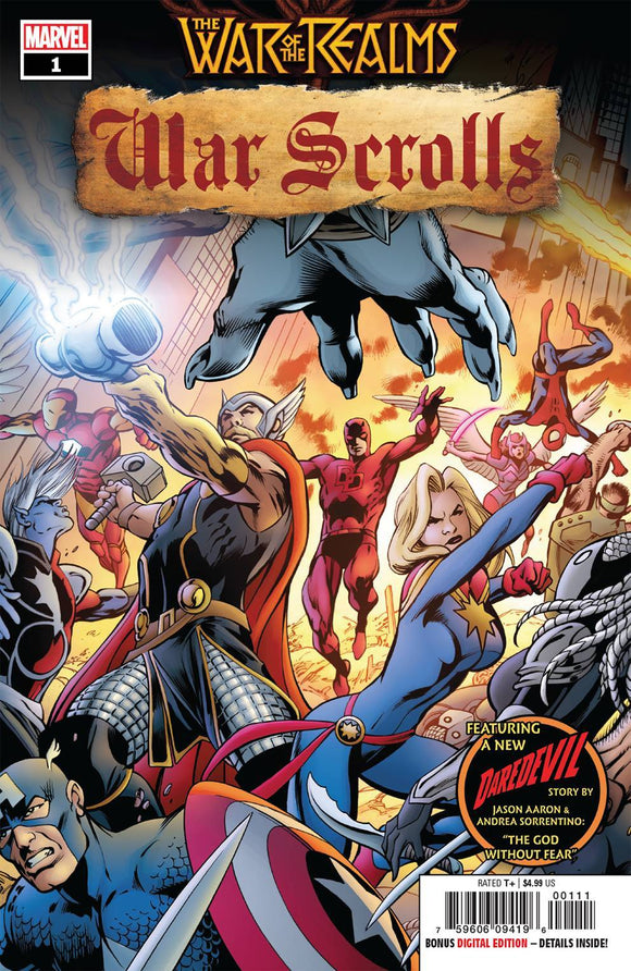WAR OF REALMS WAR SCROLLS #1 (OF 3) - MARVEL COMICS - Black Cape Comics