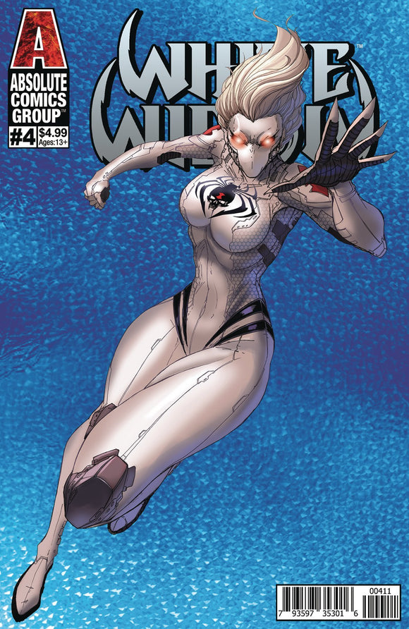 WHITE WIDOW #4 CVR A TYNDAL HOLOGRAPHIC - ABSOLUTE COMICS GROUP - Black Cape Comics
