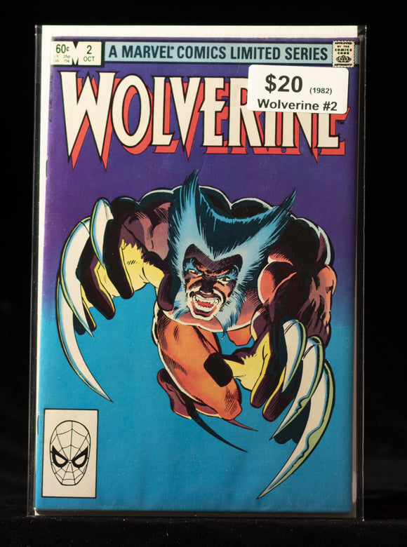 Wolverine (1982) #2 - MARVEL COMICS - Black Cape Comics