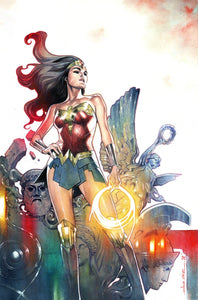 WONDER WOMAN #757 CARD STOCK OLIVIER COIPEL VAR ED - DC COMICS - Black Cape Comics