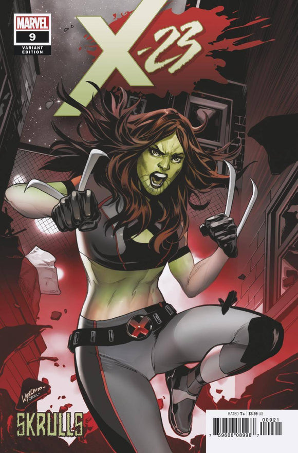 X-23 #9 LUPACCHINO SKRULLS VAR - MARVEL COMICS - Black Cape Comics