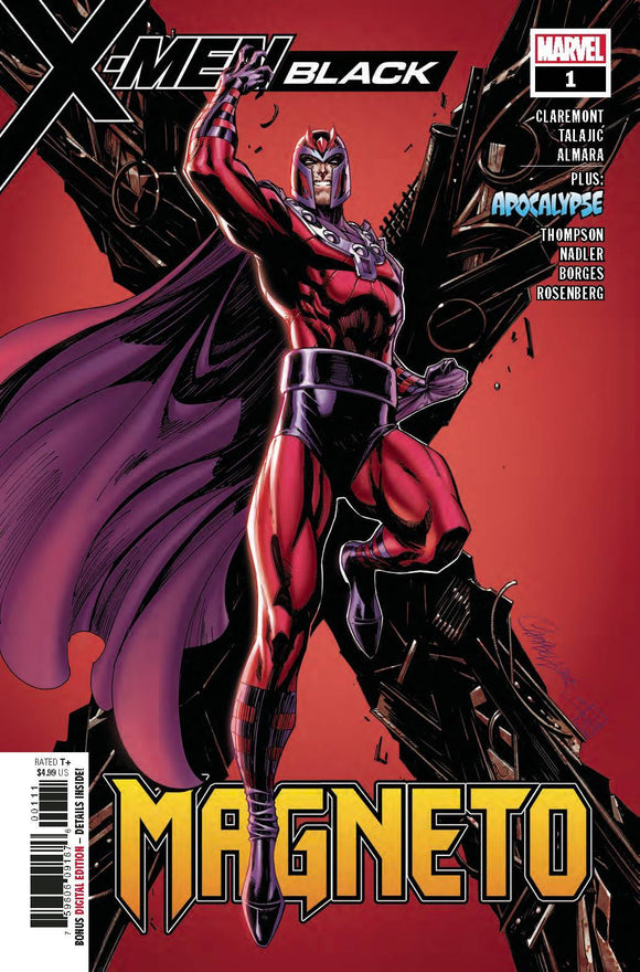 X-MEN BLACK MAGNETO #1 - MARVEL COMICS - Black Cape Comics