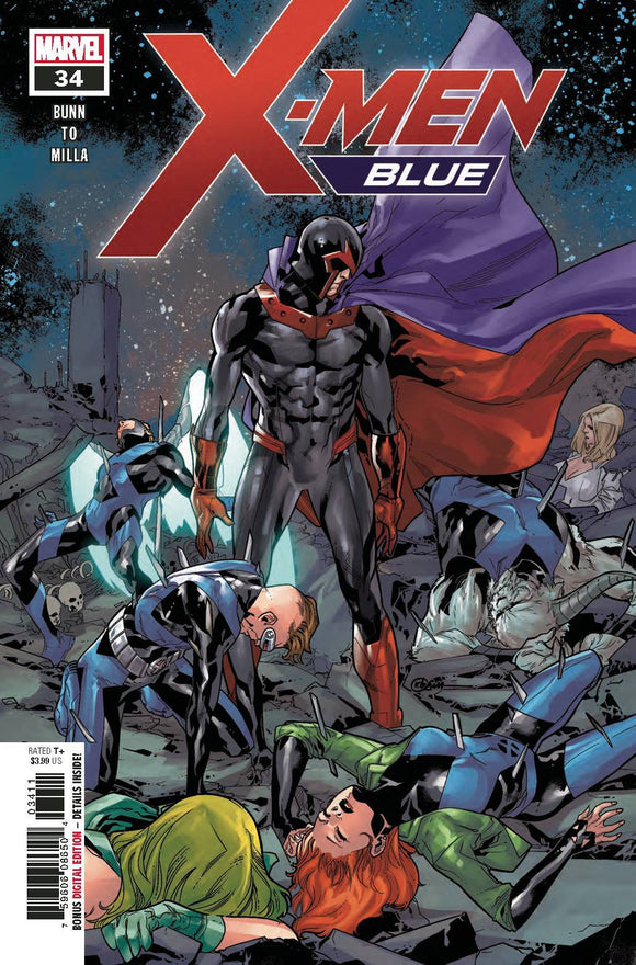 X-MEN BLUE #34 - MARVEL COMICS - Black Cape Comics