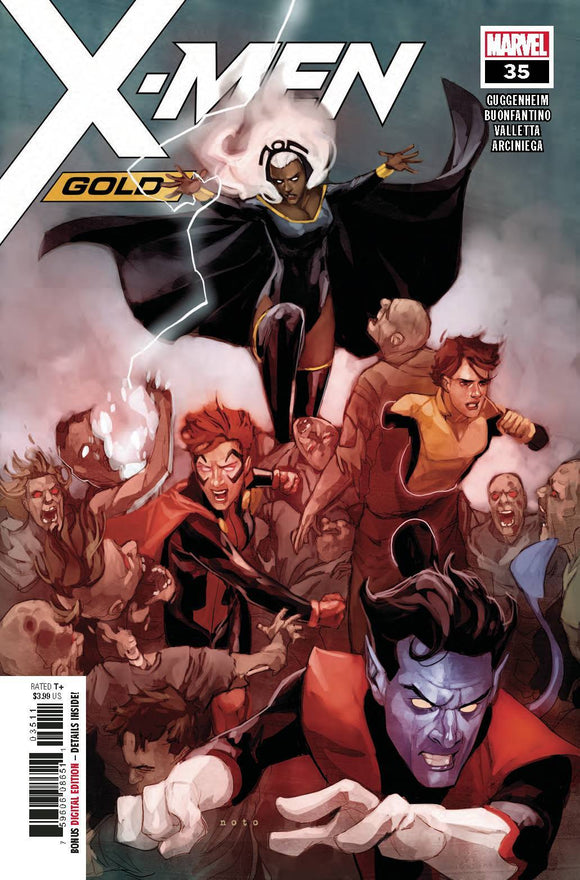 X-MEN GOLD #35 - MARVEL COMICS - Black Cape Comics