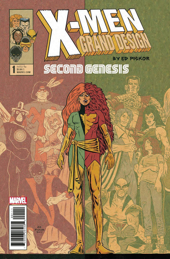 X-MEN GRAND DESIGN SECOND GENESIS #1 (OF 2) - MARVEL COMICS - Black Cape Comics