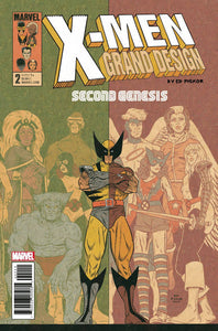 X-MEN GRAND DESIGN SECOND GENESIS #2 (OF 2) - MARVEL COMICS - Black Cape Comics
