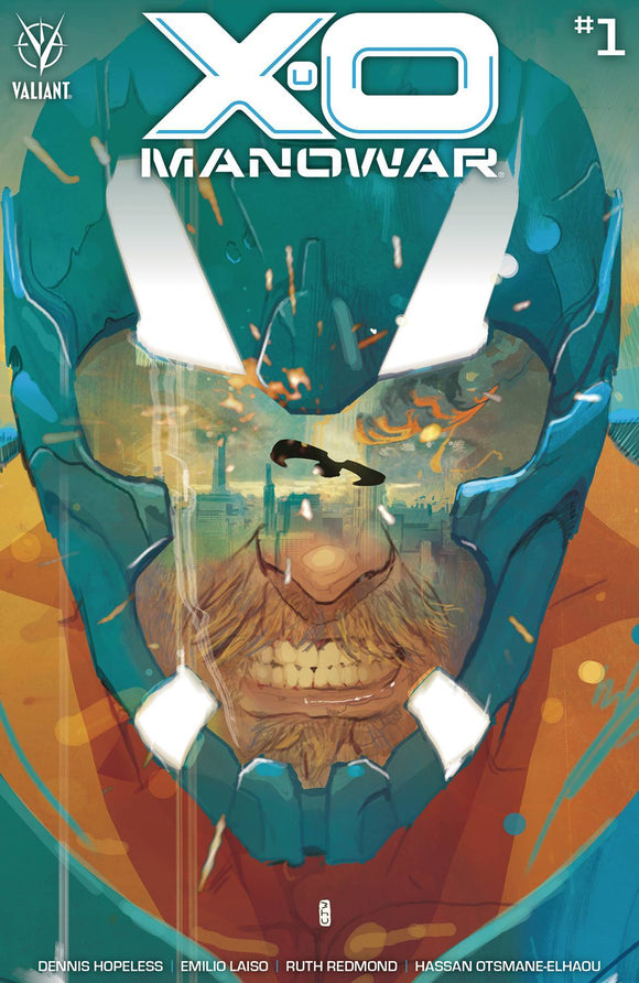 X-O MANOWAR (2020) #1 CVR A WARD - VALIANT ENTERTAINMENT LLC - Black Cape Comics