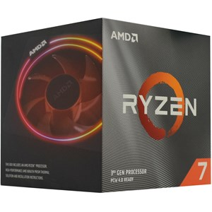 AMD Ryzen 7 3700X 8 Core AM4 CPU with Wraith Prism Cooler