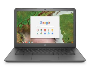HP Chromebook 14 G5 14 Inch Full HD Celeron N3450 2.2Ghz 4GB RAM 32GB eMMC with Chrome OS