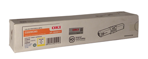 OKI 46508717 Yellow Toner
