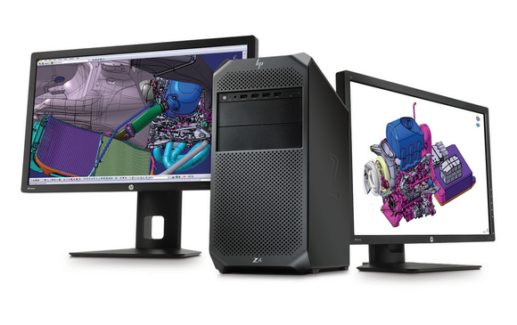 HP Z4 G4 Tower Workstation i7-9800X 4.4GHz 64GB RAM 512GB SSD Quadro RTX4000 with Windows 10 Professional