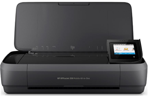 HP OfficeJet 250 WiFi Mobile Inkjet MFC Printer