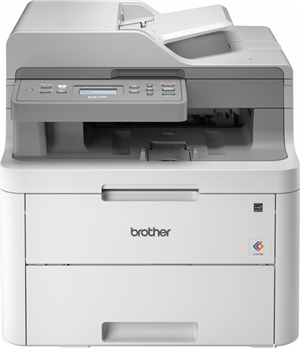 Brother DCPL3551CDW 18ppm WiFi  Colour Laser MFC Printer