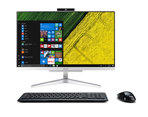 Acer Aspire C24-865 All-in-One Desktop 23.8 Inch i3-8130U 3.40GHz 4GB RAM 128GB SSD 1TB HDD with Windows 10 Home