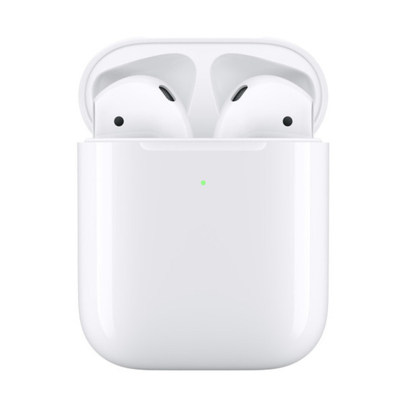 Apple AirPods - 2nd Gen, Truly Wireless In-Ear Headphones - With Wireless Charging Case
