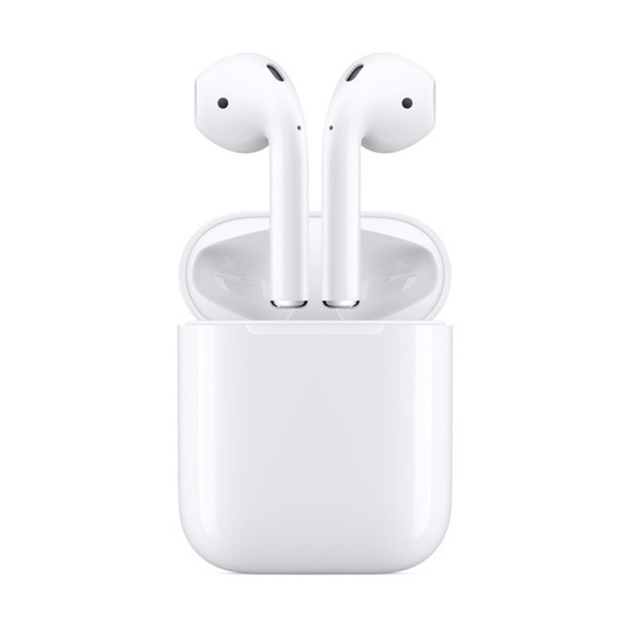 Apple AirPods - 2nd Gen, Truly Wireless In-Ear Headphones - With Wired Charging Case