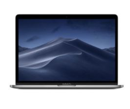 "Apple Macbook Pro 13"", Touch Bar - i5 2.4 GHz Quad Core, Turbo Boost up to 4.1GHz, 8GB RAM, 512GB SSD, Intel Iris Plus Graphics 655 - Touch Bar & Touch ID - Four Thunderbolt 3 Ports - Space Grey"
