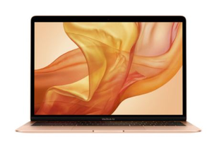 "Apple Macbook Air 13"", Retina, 1.6GHz Dual-Core 8th Gen i5 processor, 8GB RAM, 256GB SSD Storage, Touch ID - Gold"