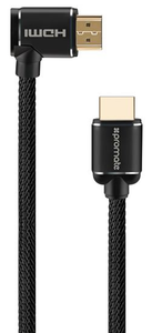 Promate 5M, 4K HDMI Right Angle Cable - 24K Gold Plated