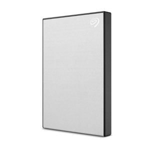 Seagate Backup Plus Slim USB 3.0 External 1TB Hard Drive - Silver