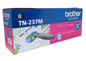 Brother TN-237M Magenta High Yield Toner Cartridge