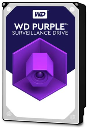 Western Digital Purple 1TB 5400rpm 64MB Cache 3.5 Inch SATA3 Surveillance Hard Drive