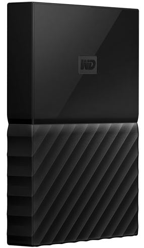 Western Digital My Passport USB 3.0 External Hard Drive 4TB - Black