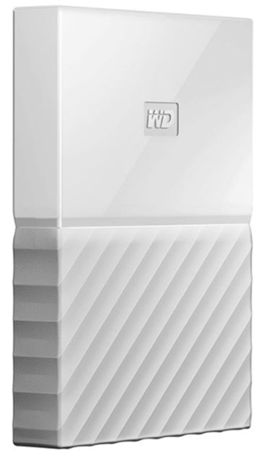 Western Digital My Passport USB 3.0 External Hard Drive 4TB - White
