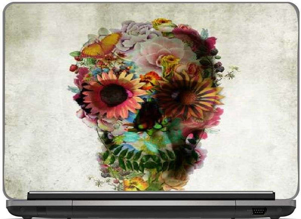 Snoogg skull 2 pill-Laptop Skin 15.6 inch by Ali Gulec