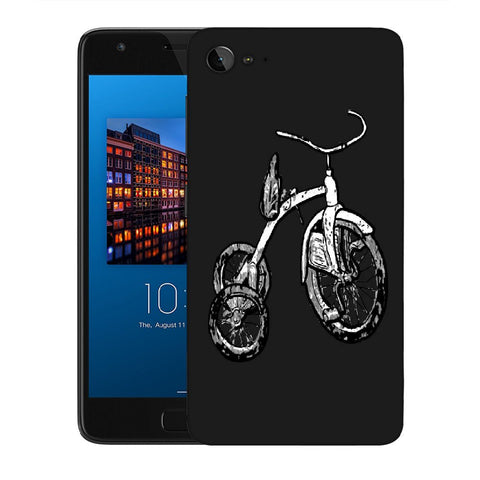 Snoogg Abstract Bicycle Designer Protective Back Case Cover For Lenovo Zuk Z2