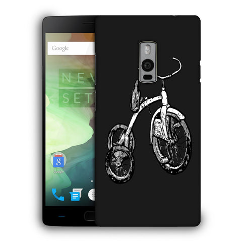 Snoogg Abstract Bicycle Designer Protective Back Case Cover For OnePlus Two