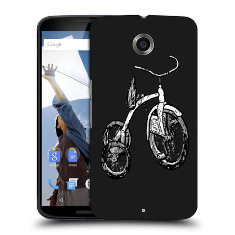 Snoogg Abstract Bicycle Designer Protective Back Case Cover For Motorola Nexus 6