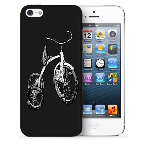 Snoogg Abstract Bicycle Designer Protective Back Case Cover For Apple Iphone SE