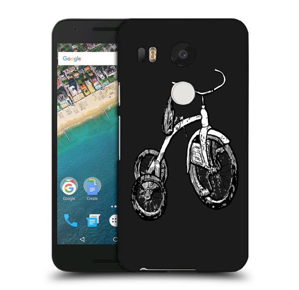 Snoogg Abstract Bicycle Designer Protective Back Case Cover For Lg Nexus 5X