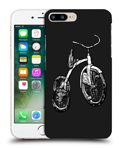 Snoogg Abstract Bicycle Designer Protective Back Case Cover For Apple Iphone 7 Plus