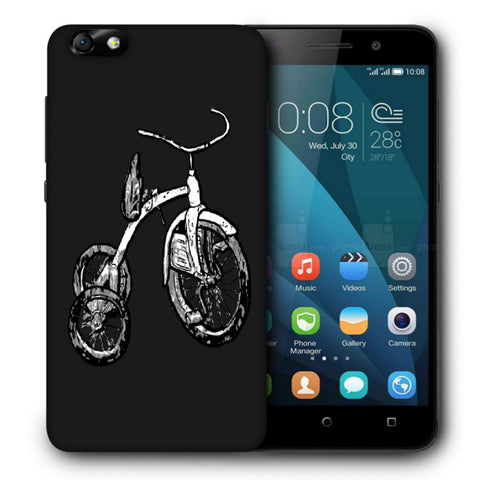 Snoogg Abstract Bicycle Designer Protective Back Case Cover For Huawei Honor 4X
