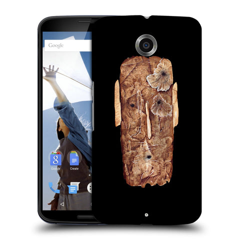 Snoogg Abstract Face Designer Protective Back Case Cover For Motorola Nexus 6