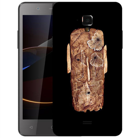 Snoogg Abstract Face Designer Protective Back Case Cover For Swipe Elite 2 Plus